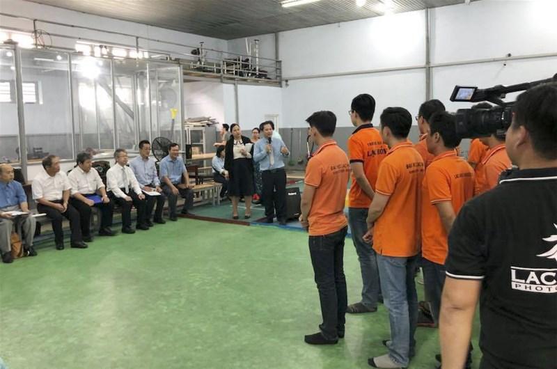 Doanh nghiệp Nhật Bản quan tâm đào tạo nhân lực tại Đồng Nai