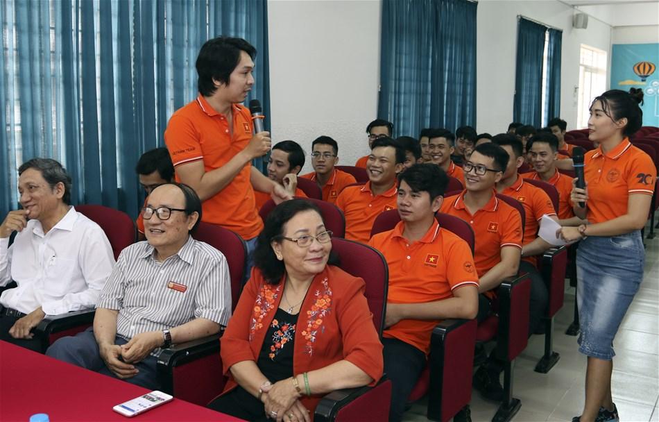 Robocon Lạc Hồng xuất quân tham dự ABU Châu Á Thái Bình Dương 2018
