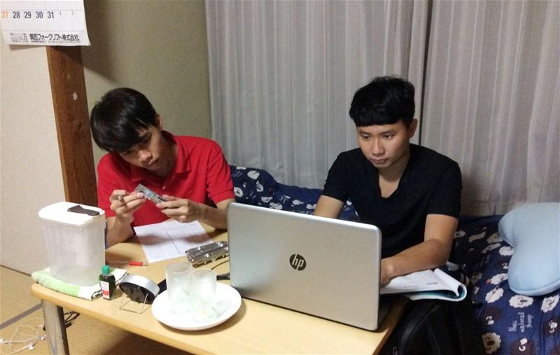 Sinh viên Lạc Hồng tự tin trên đất Nhật
