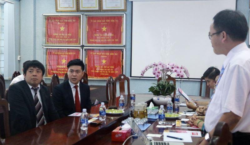 Chủ tịch Hiệp hội JLAN mong muốn LHU trở thành thành viên