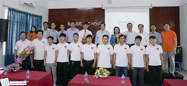 LHU xuất quân bảo vệ chức vô địch Robocon Việt Nam và SEM 2019