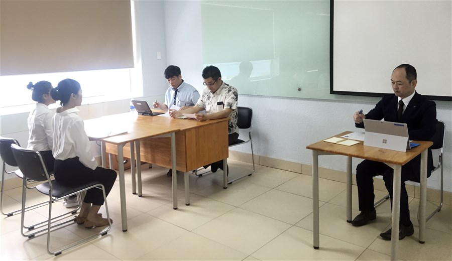 Sinh viên LHU tham gia Internship có lương tại khách sạn 5* ở Nhật