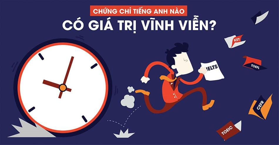 07 chứng chỉ tiếng anh có giá trị nhất hiện nay tại Việt Nam